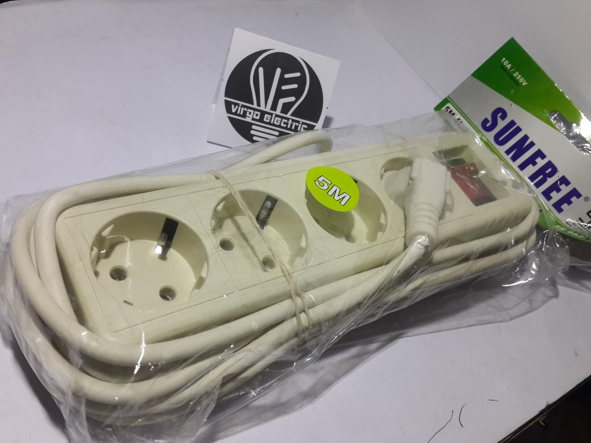 Terminal Colokan 4 Dengan Panjang Kabel 5 Meter Daftar Harga Stop Kontak Lubang Merk Kyzuku Jual Listrik Box Roll Toko