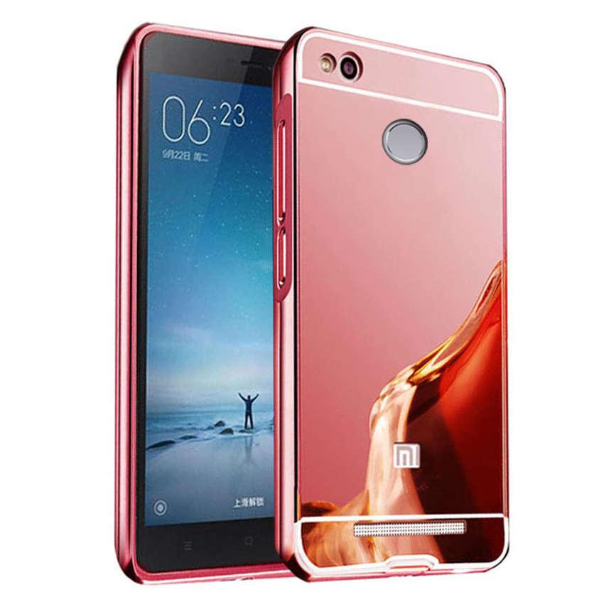 ... Jual Casing Metal Bumper Mirror for Xiomi Redmi 3 Pro GROSIR GADGET ACC Tokopedia