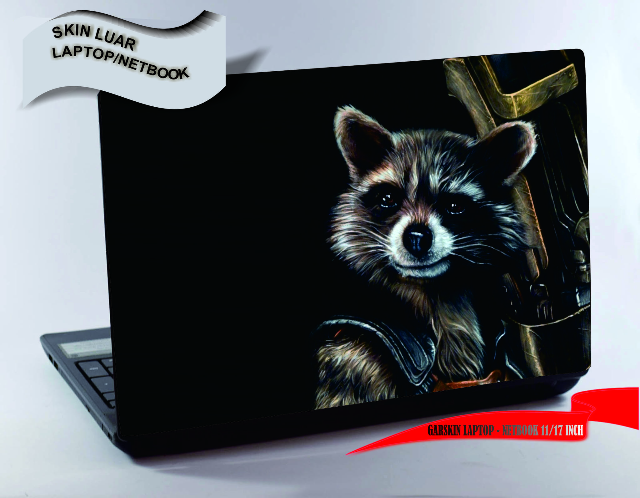 Garskin luar Laptop/Netbook - Guardians galaxy