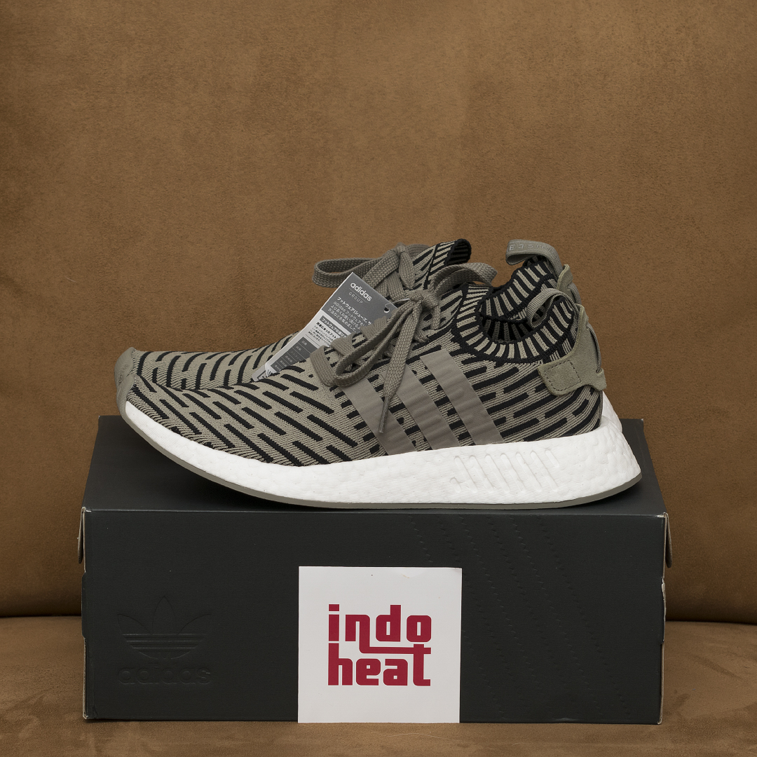 adidas NMD R2 PK BA7198 Trace Cargo / Trace Cargo / Core Black