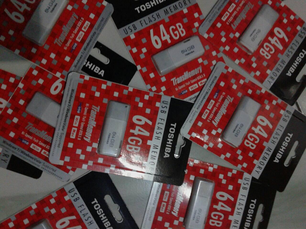 Jual Flashdisk Toshiba 64gb Murah Garansi Ory Flash Disk Tosiba 64 Gb Ori Toko 1353 Tokopedia