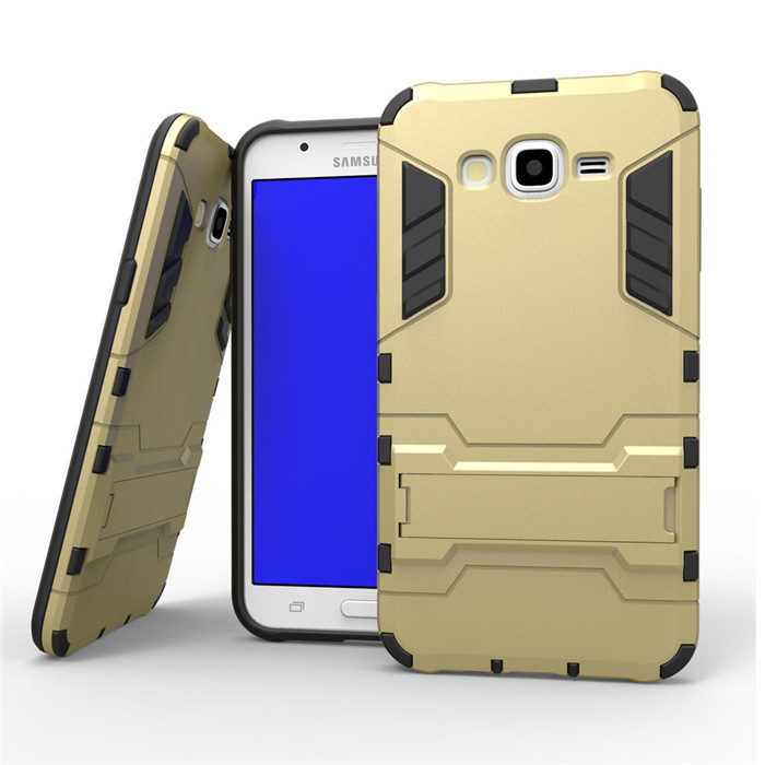 Samsung Galaxy J3 2016 Anti Knock Slim Hybrid Rugged Armor Case