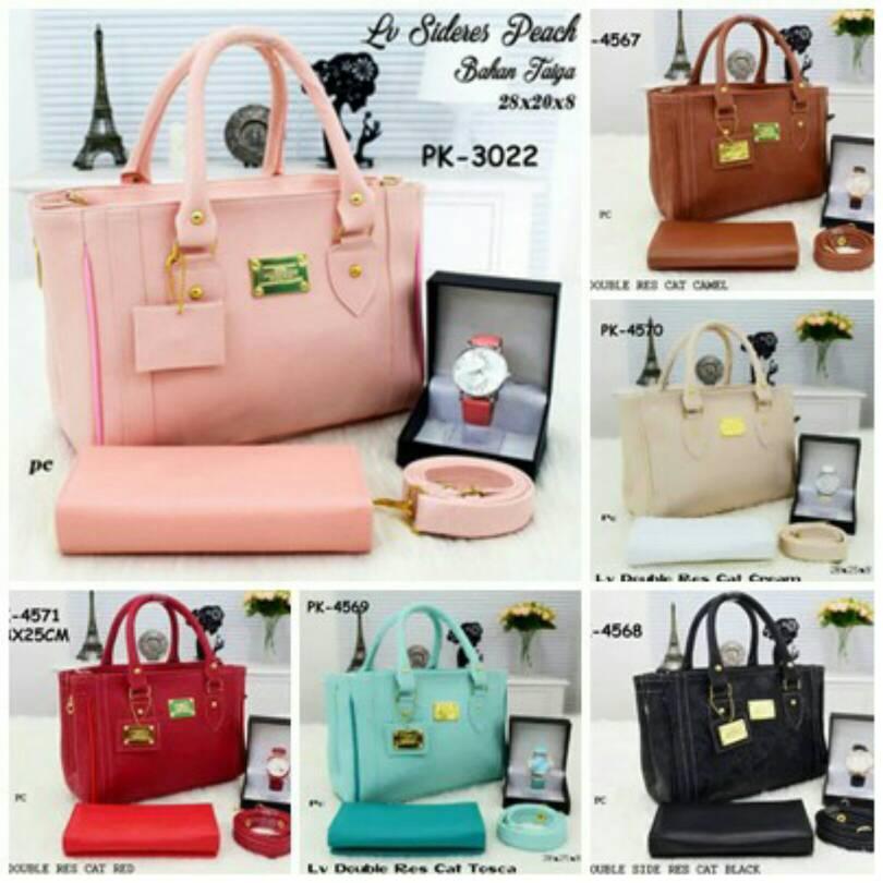 Tas Wanita Murah,handbag,tas Paket Murah,dompet,jam Tangan,lv,merah