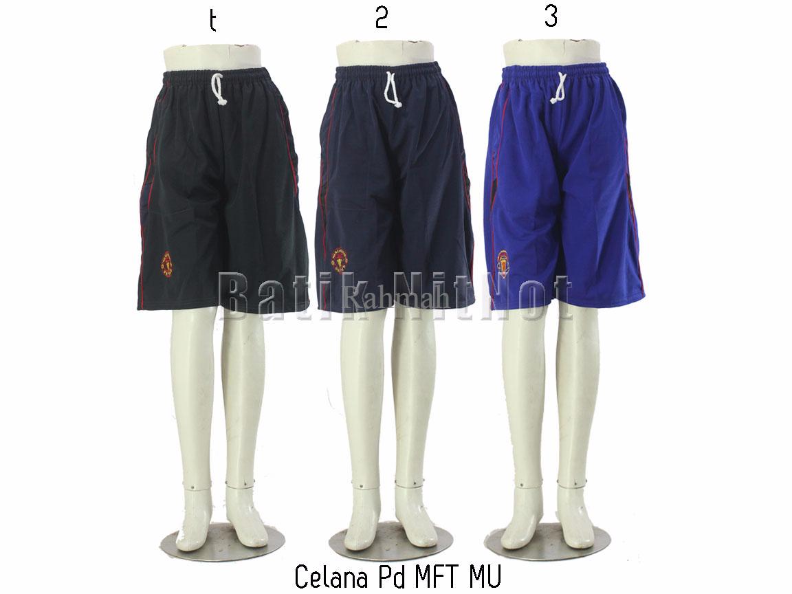 Celana Pendek Celana Futsal Celana Sport - Celana Pendek MFT MU
