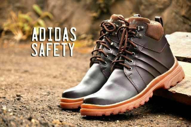 adidas safety brown