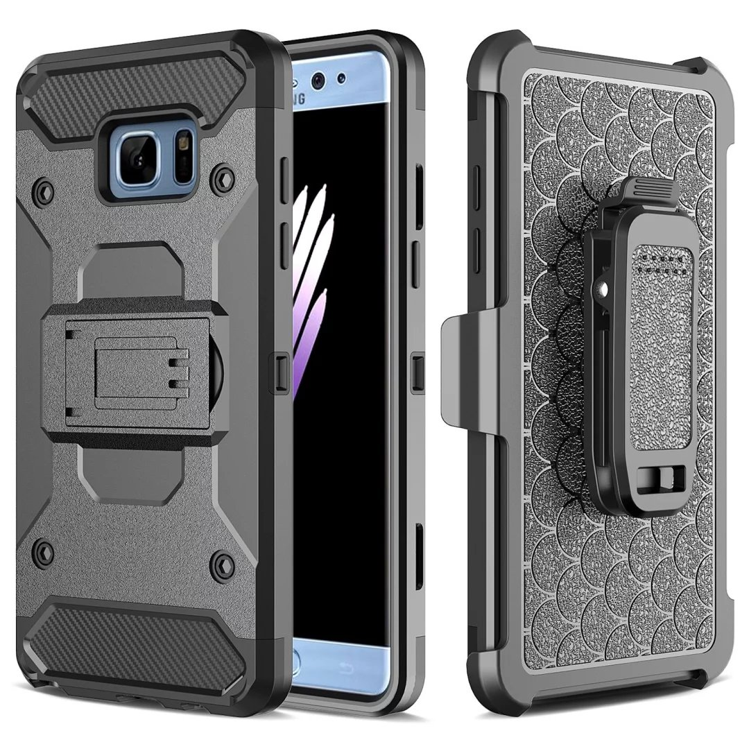 Samsung Galaxy J5 Prime XGEAR Armor w Holster Case Full Protection