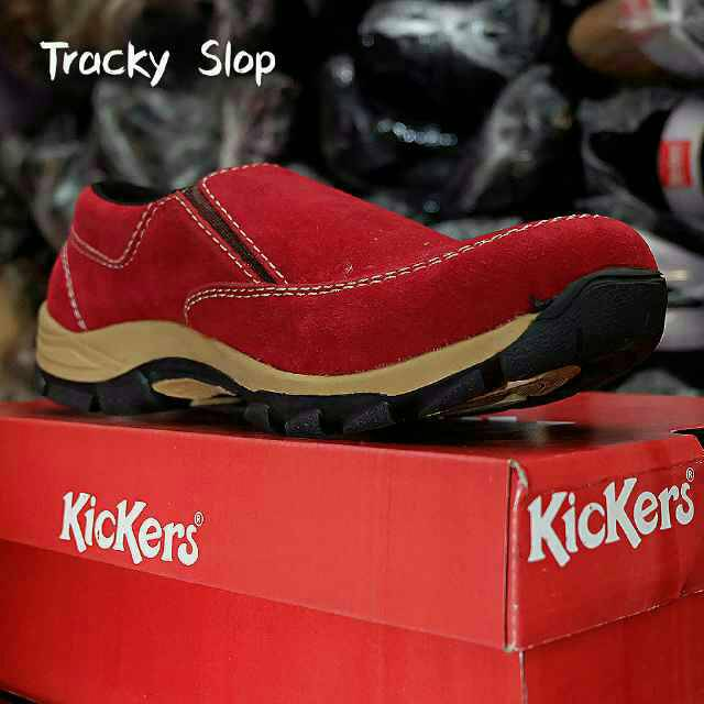 kickers tracky slop sol tpr tracking red