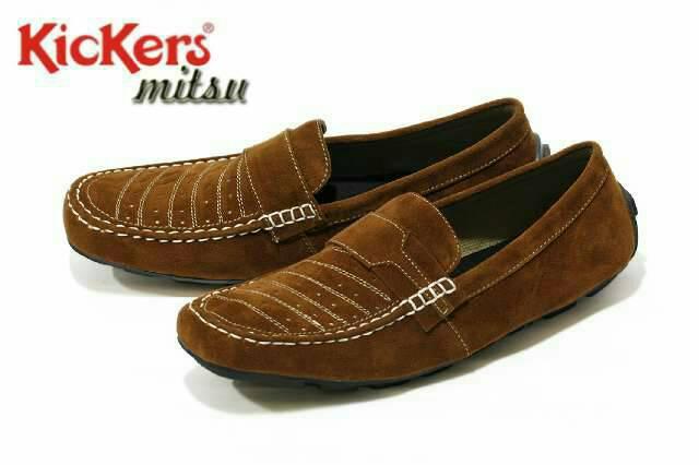 sepatu kickers mitsu brown