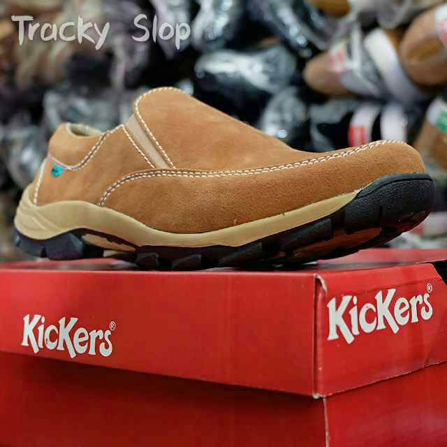 kickers tracky slop sol tpr tracking tan
