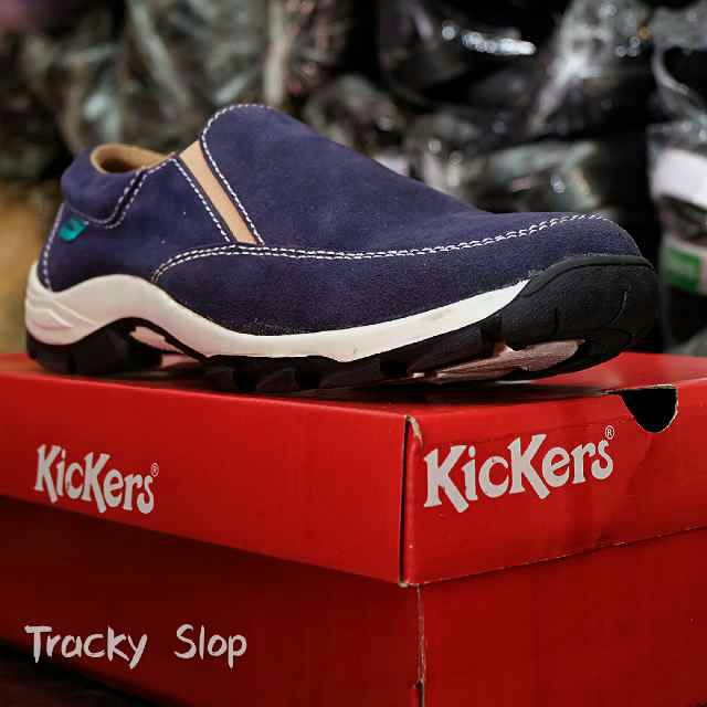 kickers tracky slop sol tpr tracking navy
