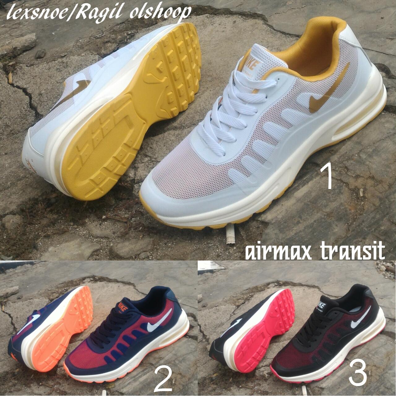 new rillis sepatu nike airmax transit sepatu running dan gaul
