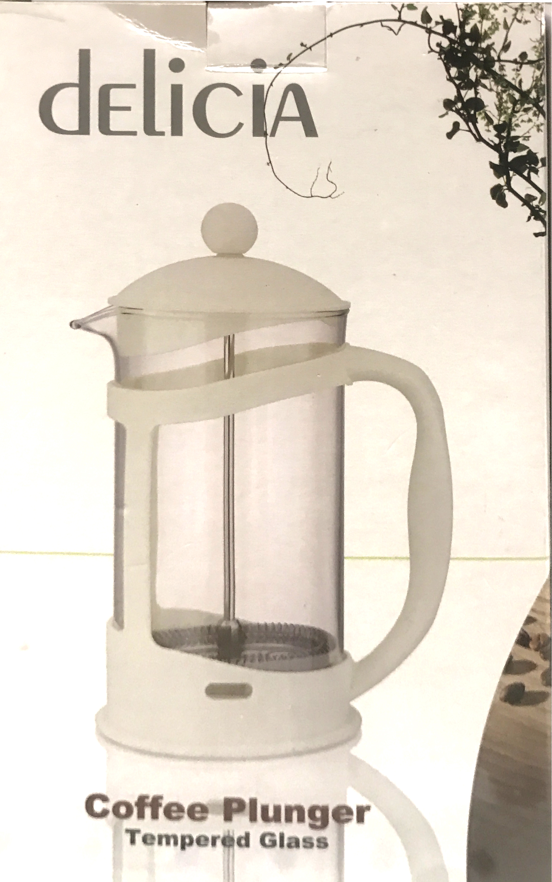 Ikea Upphetta Coffee Tea French Press 0 4l Glassstainless Steel 04l Glass Ampamp Stainless Alat