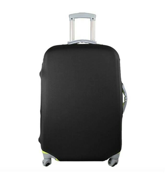harga Sarung Koper Pelindung Koper Luggage Cover Elastis Ukuran S, M, L - Nananina Blanja.com