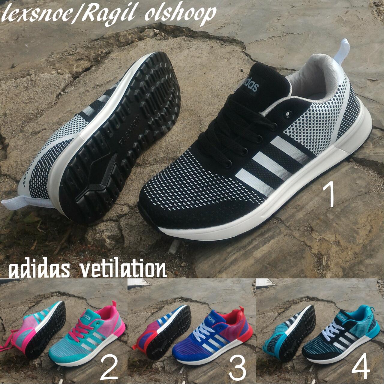 sepatu adidas vetilation adidas free running import terbaru