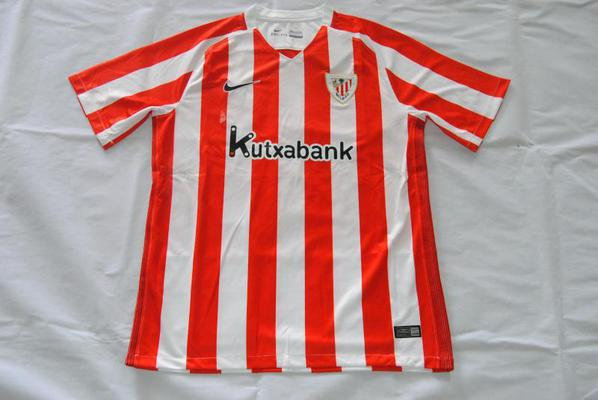 Jersey Bola Grade Ori Athletic Bilbao Home Official 2016-2 Jersey Bola