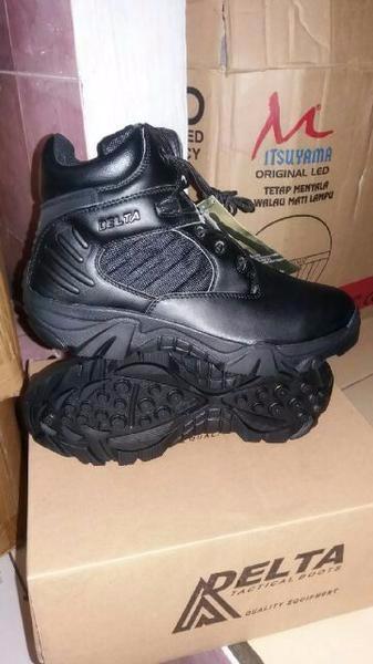 Limited Sepatu Tactical Army Delta 6 Inc Warna Hitam Diskon