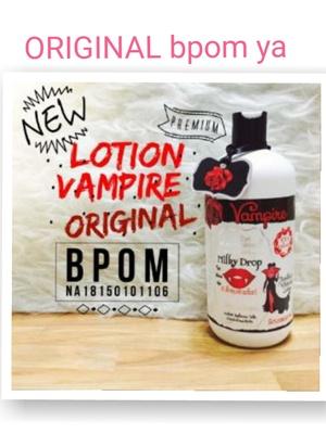 Best Price Vampire Bpom Botol Besar 500 Ml / Vampire Lotion Bpom Asli