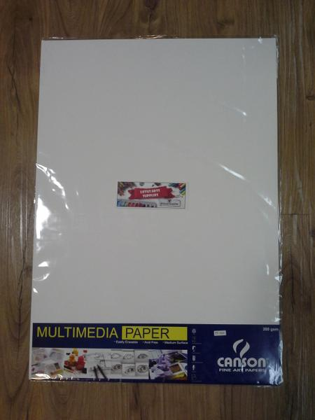Canson Multimedia 200 Gsm A2