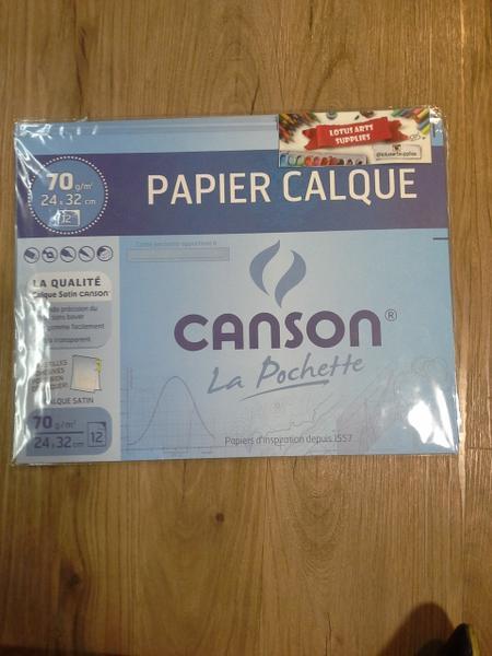Canson Tracing 70g (Papier Calque La Pochette)