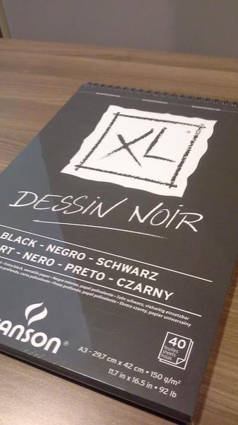 Canson XL Black A3