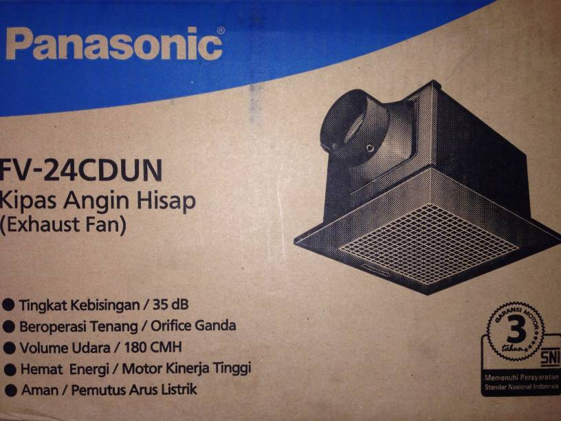 Jual Ceiling Exhaust Fan Panasonic Ideas