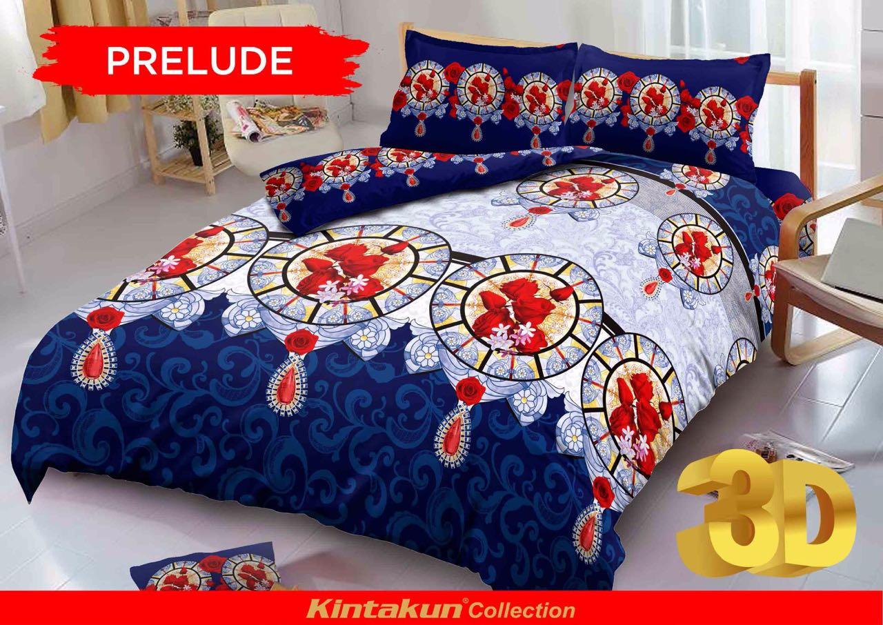 Jual Sprei Rumbai Kintakun D'luxe Uk.180 X 200 Motif Prelude - J.A. Store 7788 | Tokopedia