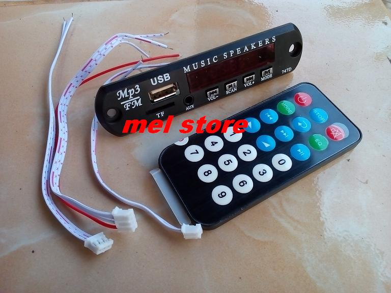 Modul USB Mp3 + FM Radio