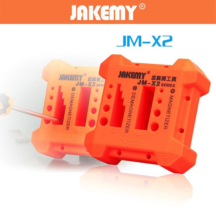 Alat Membuat Besi Menjadi Magnet / Demagnetize JAKEMY X2