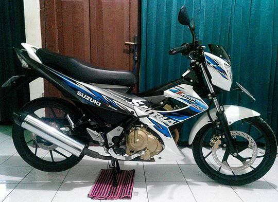harga Suzuki Satria FU 150 Putih-Abu 2014 akhir Plat A Serang-Banten Tokopedia.com
