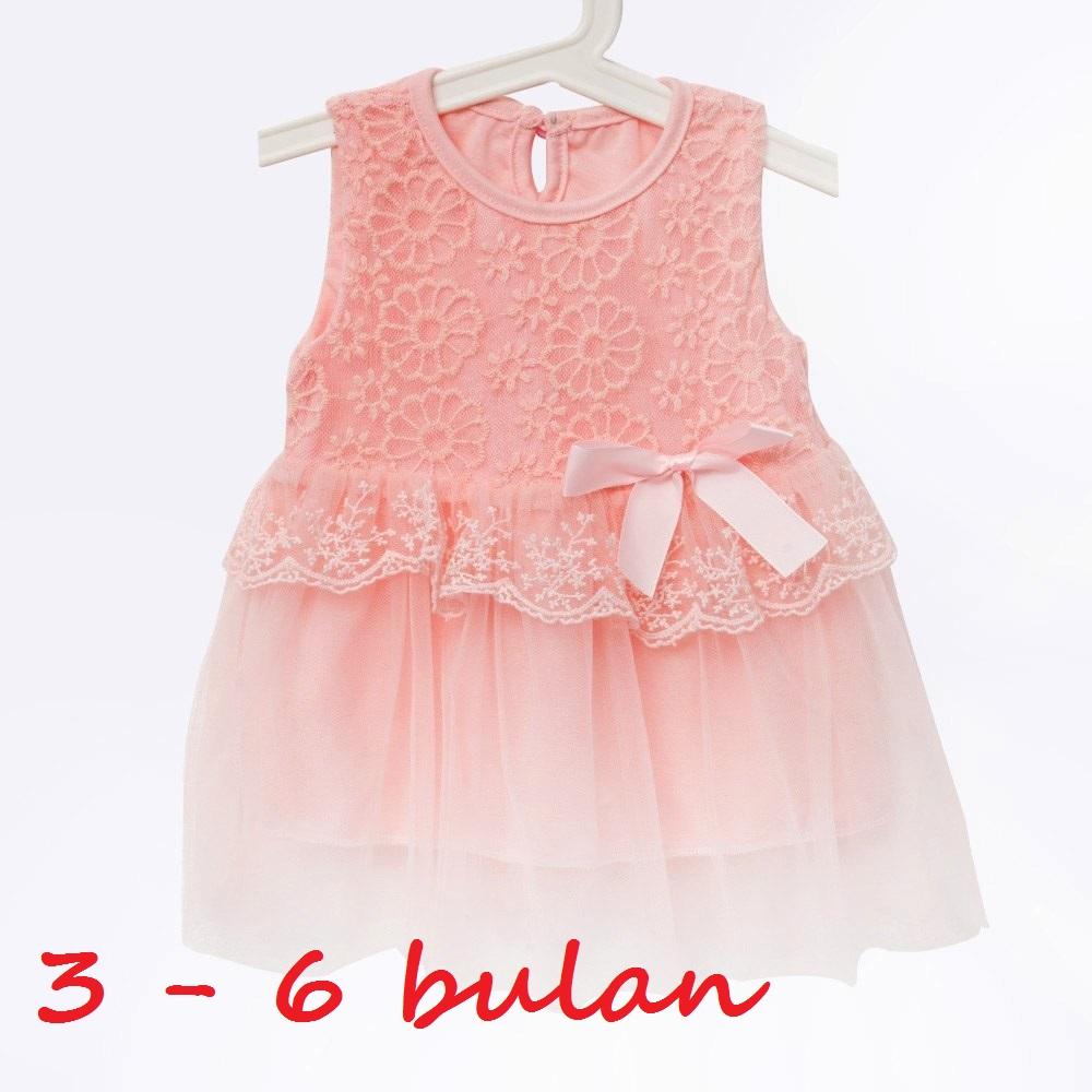 58326_b869c6a2 5f31 472b a81a cc446b8b2728_1000_1000 jual dress gaun baju bayi perempuan baby girl pink salem peach 3 6,Pakaian Bayi 6 Bln