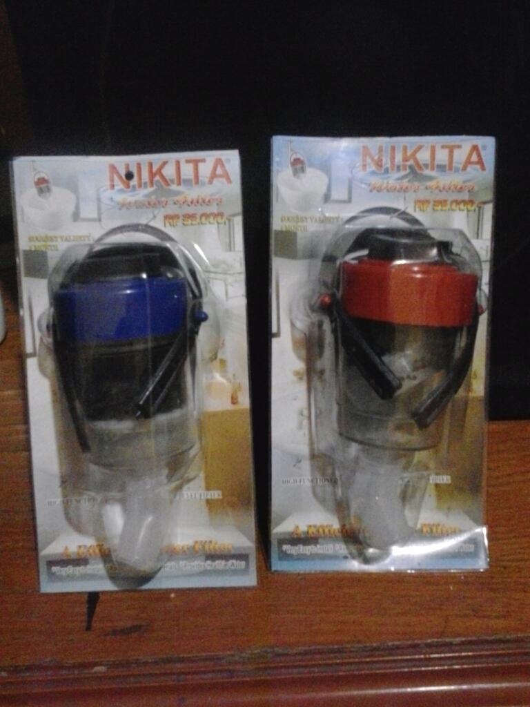 Jual Filter Air Nikita Plus Corong Naura Beauty Tokopedia Saringan Water Kran Keran