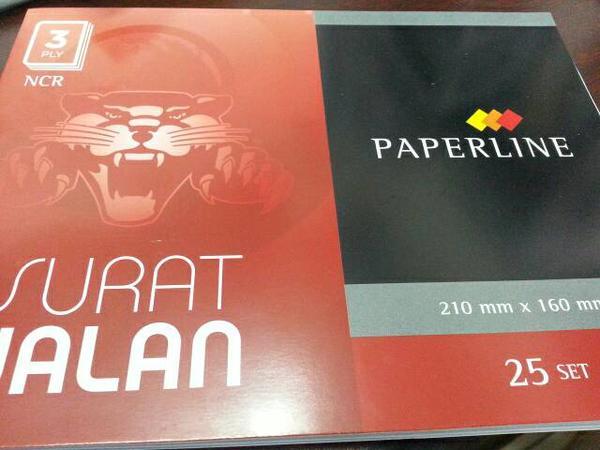 Buku Surat Jalan Rangkap 3 Paperline