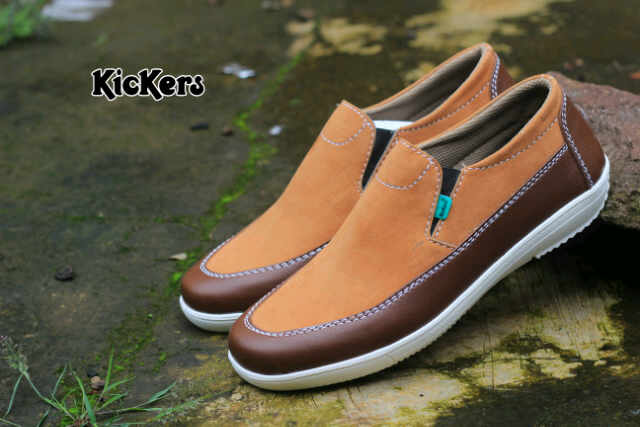 kickers kombi tan brown