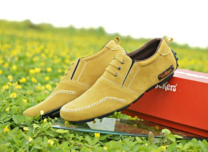 kickers ceo tan suede
