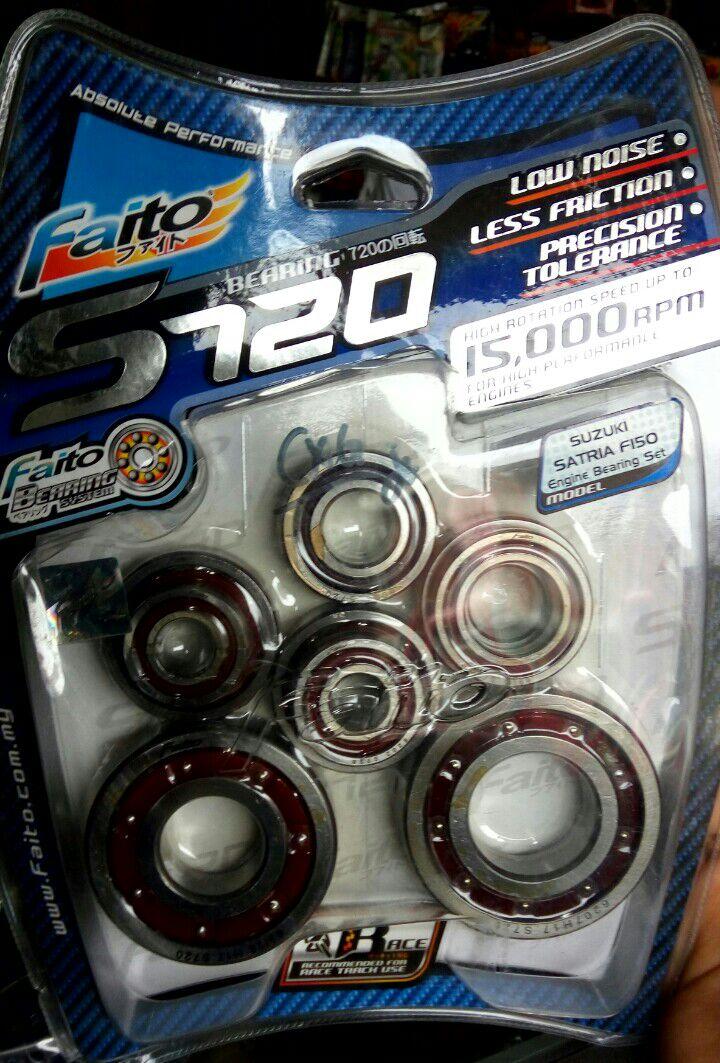 faito bearing. jual bearing fullset high speed s720 satria fu faito (laher) - melody sparepart | tokopedia faito bearing u