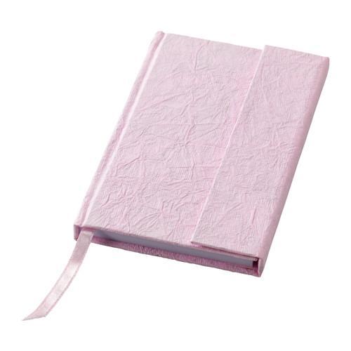 IKEA KARESTA Buku Diary + Penutup Magnet PINK 70 Halaman