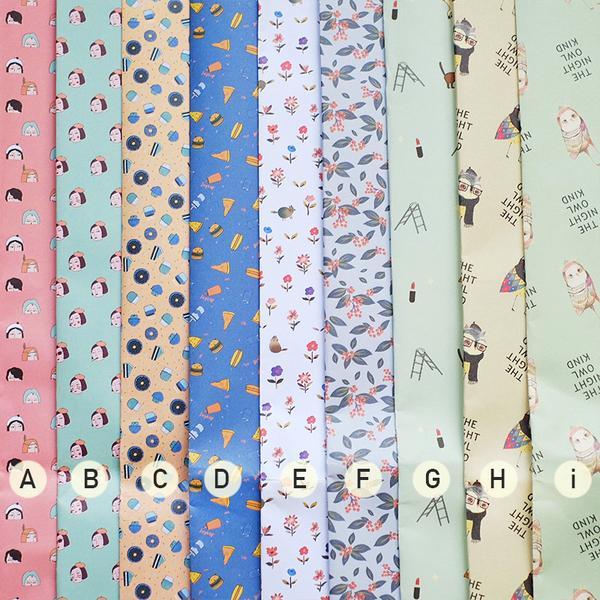 Quirky Gift Wrapping Paper / Kertas Kado / Sampul