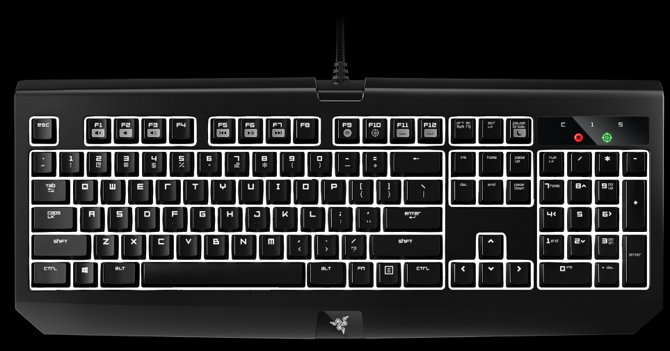 Keyboard - Razer - BlackWidow Ultimate Stealth 20161