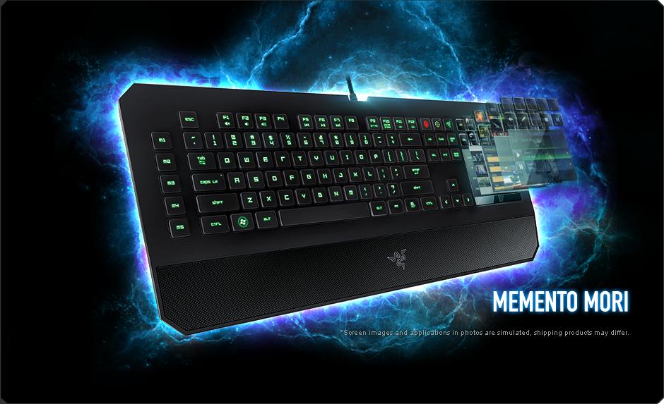 Keyboard - Razer - DeathStalker Ultimate Smart Gaming Keyboard1