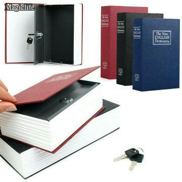 Brankas Buku Tersembunyi / Penyimpanan Uang Model Buku