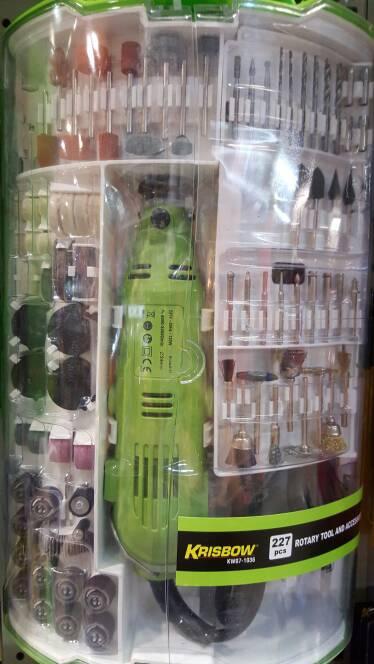 Mini Grinder With 227 Pcs Accesories / Gerinda Mini Dengan 227 Mata