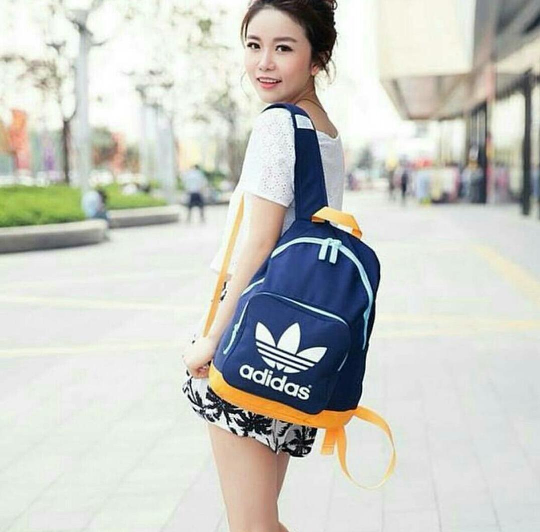 Jual Tas Sekolah Anak Ransel Adidas Backpack Model Terbaru Grosir Kekinian Tokopedia