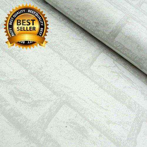 jual wallpaper sticker premium 10 meter - bata putih | blanja