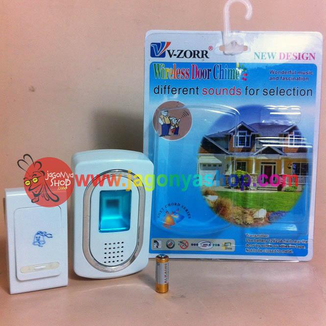 Jual BEL PINTU WIRELESS Intelligent / Bell rumah / jarak jauh - Dewi Anggih Shop  