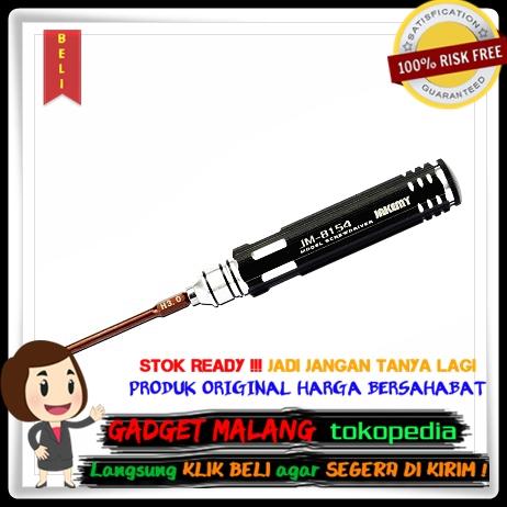 Jakemy 6 In 1 Screwdriver Kit Model - JM-8154 - Black