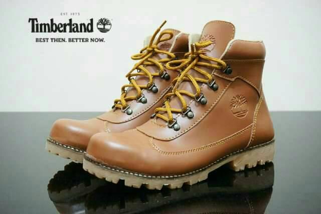 sepatu boot safety timberland ring tan