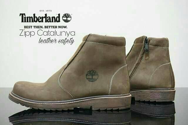 sepatu boot safety kulit timberland zipp catalunya