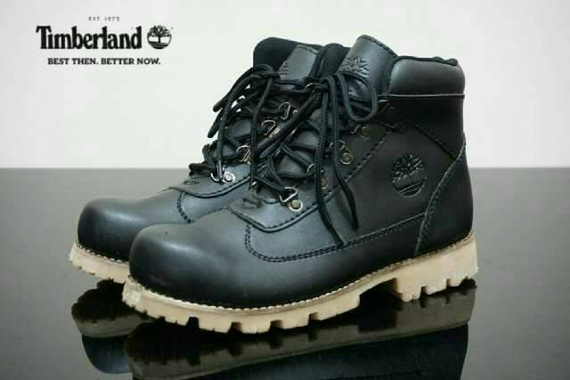 sepatu boot safety timberland ring black