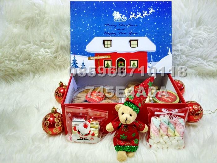 Christmas Gift Box /Parcel/Kado/Hantaran/Hampers Bingkisan Natal
