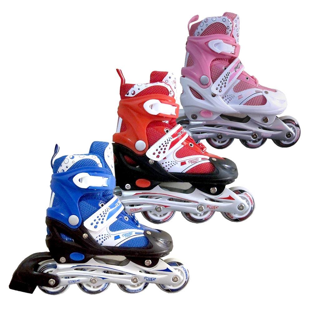 Jual Sepatu Roda Anak Inline Skate POWER SUPER - SERBU ... 70a7fe5c76